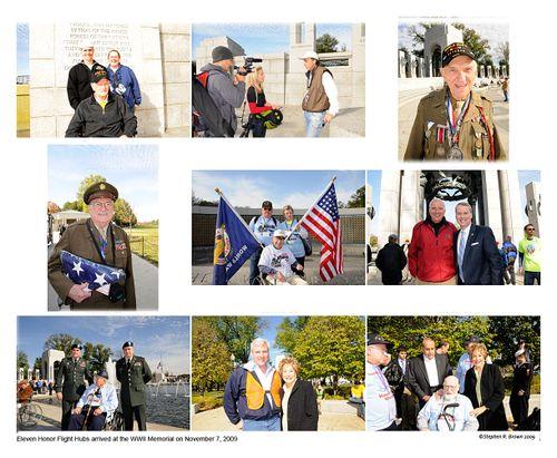 World War II Memorial, Honor Flight